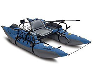 Classic Accessories Colorado XTS Fishing Inflatable Pontoon Boat