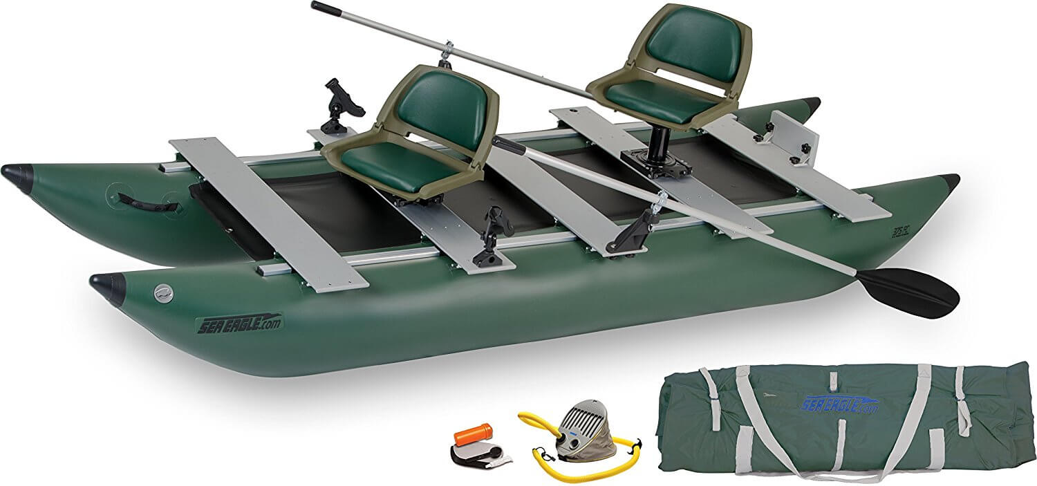 Sea Eagle Green 375FC Inflatable Boat Review