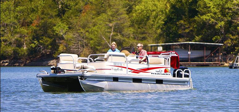 Pontoon Boat Camper