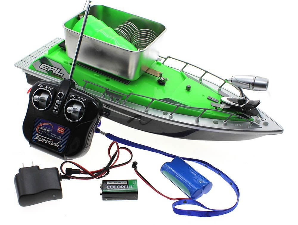 MMRM Mini RC Fishing Bait Boat Review
